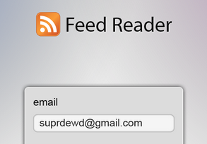 FeedReader interface